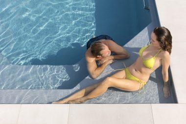 Pool Avalos mit großzügiger Flachwasserzone