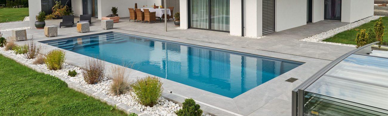 Der Pool Cayo in seiner vollen Größe mit 10 m Länge