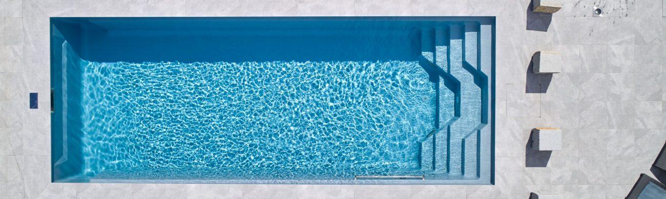 Ausstattung im Pool