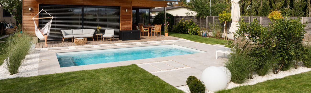 Leidenfrost Pools formschön und hochwertig, für jahrzehntelanges Badevergnügen