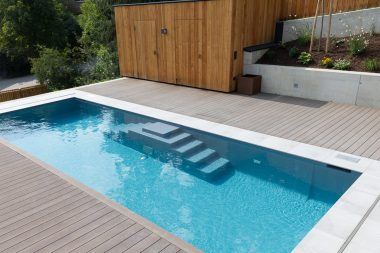 Pool LOFT 1.8 S in der Farbe basalto metalico