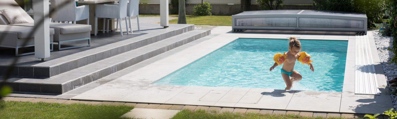 Pool Thelo mit Flachwasserzone (flatZONE)