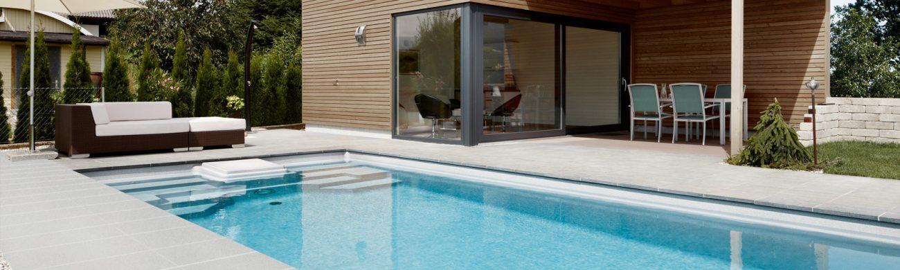Pool Riva - mit integriertem Schachtsystem TSC