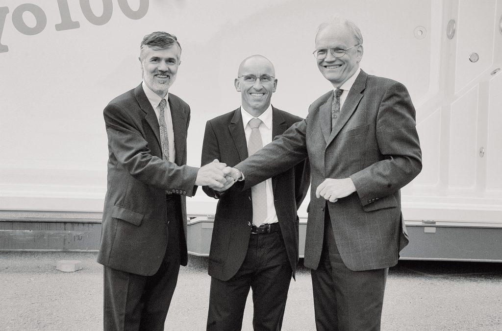 Leidenfrost Poolgeschichte Vertragsunterzeichnung Einzelunternehmen wird GmbH 2001