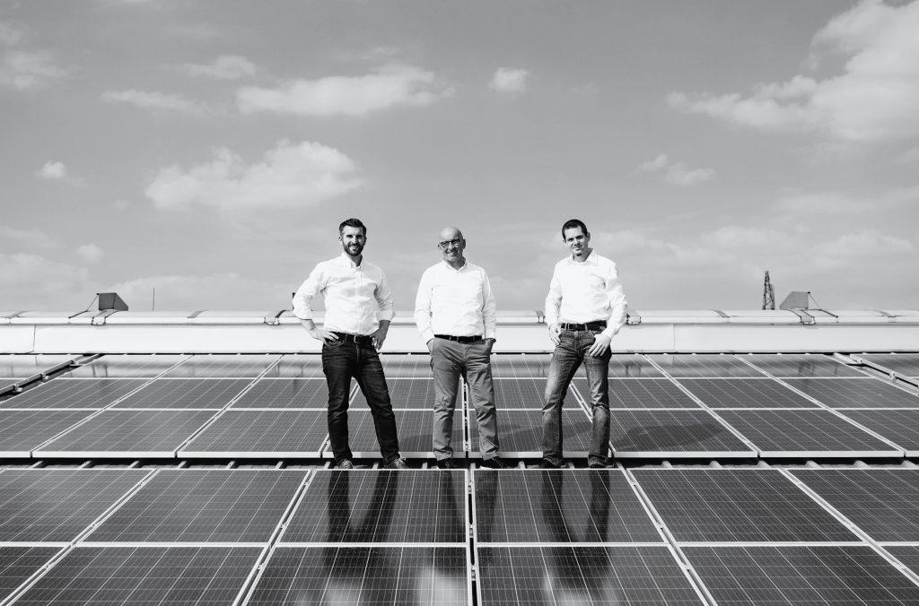 Photovoltaikanlage auf Leidenfrost Produktionsdach in Eggenburg 2019