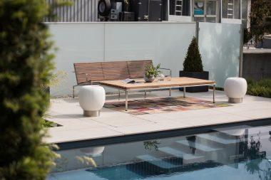 Pool LOFT 1.8 S der edle Designpool im Trendgarten in Eggenburg