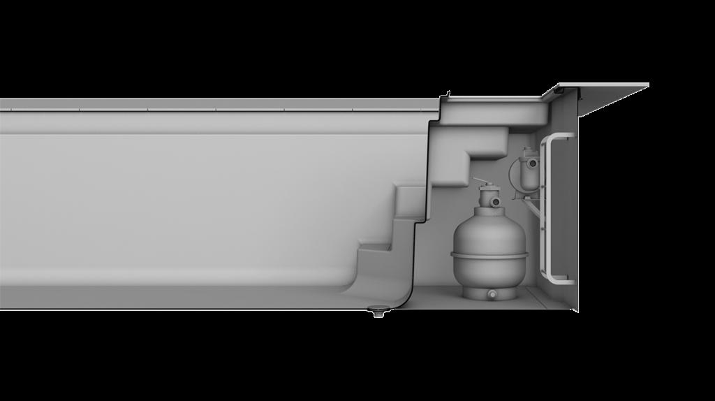 Technikschacht TSC für Poolmodell Riva
