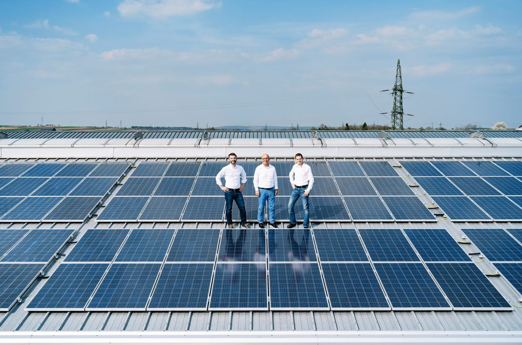 Photovoltaikanlage Leidenfrost Produktion