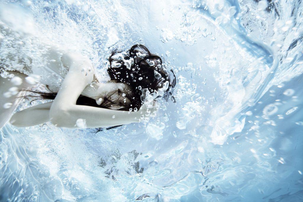 Sauberes Wasser mit dem AFM Filtermaterial.