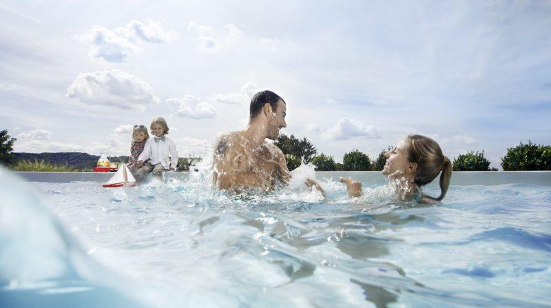 Schwimmen stärkt den ganzen Körper