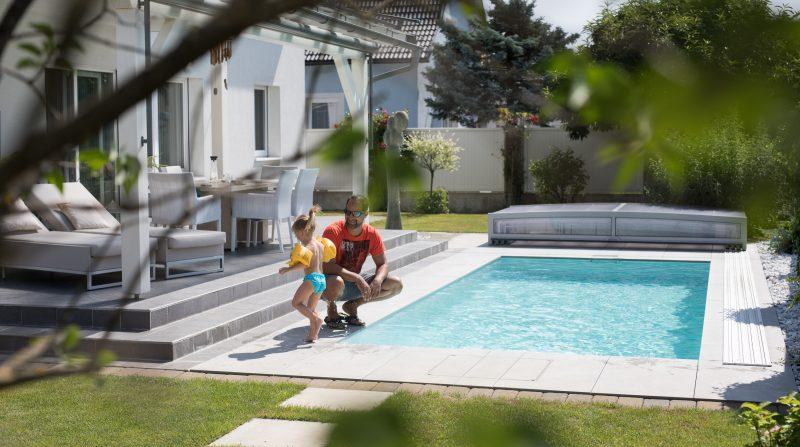 Sicherheit am und im Pool.