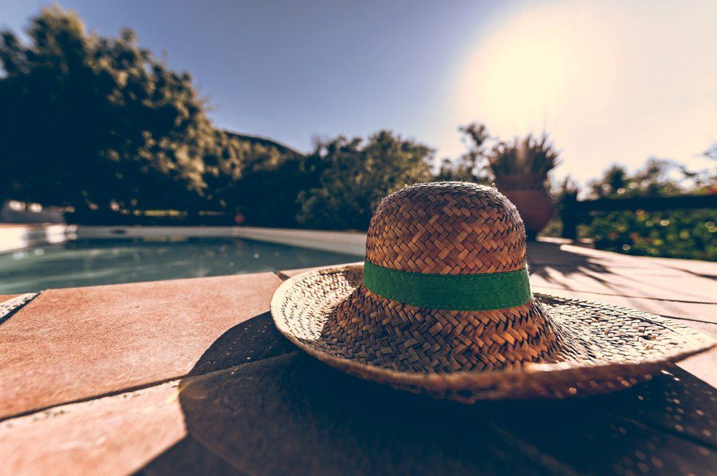 Sonnenhut als Sonnenschutz